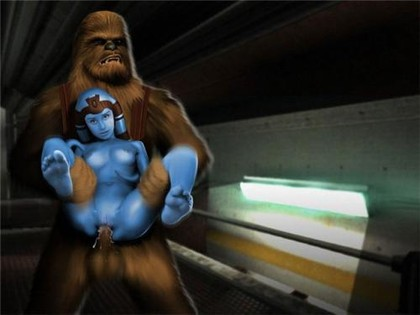 Star Wars Drawn Sex